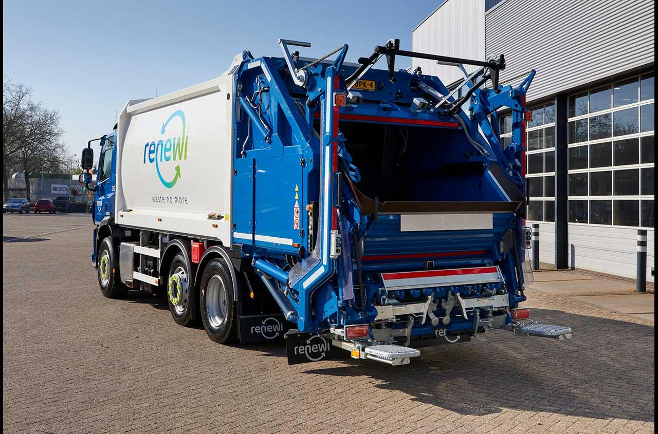 Geesinknorba waste management GEESINK REAR LOADER