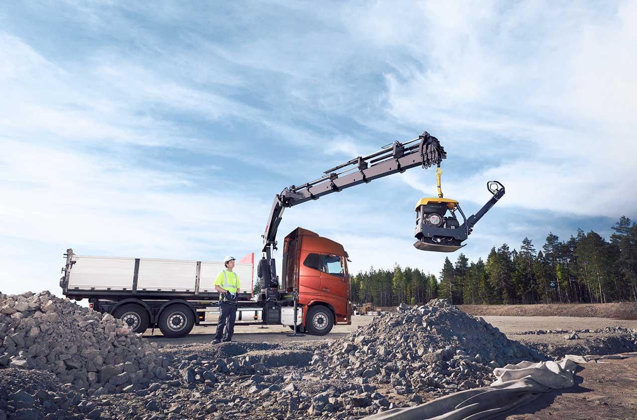HIAB loader crane X-HIPRO 358