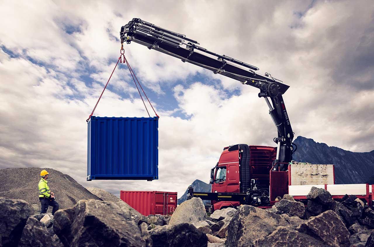 HIAB loader crane X-HIPRO 548